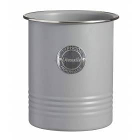 Typhoon Living Utensil Storage Pot, Grey, 15 x 12.5 cm