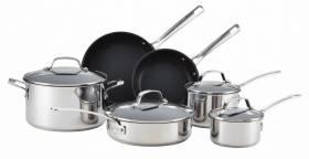 Circulon Genesis Essential Series Stainless Steel 10 Piece Set