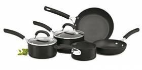 Circulon Origins Hard Anodised Cookware Set , 5-Piece - Black