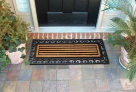 Extra Large Non-Slip Rubber Coir Outoor & Indoor Door Mat