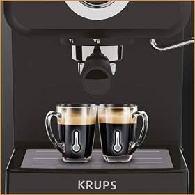 Krups XP320840 Series Opio Steam and Pump Coffee Machine, Black