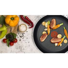 Tefal Extra Thermo - Spot Twin Fry Pan Set, 20/26 cm - Black