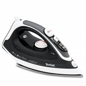Tefal FV3775 Ceramic Soleplate Steam Iron, 2300 W, Black