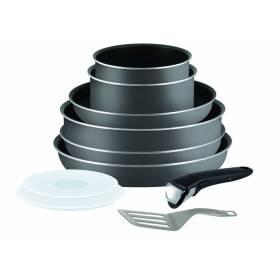 Tefal Ingenio Minute Power Glide  Non-Stick 10 Pcs Cookware Pan Set