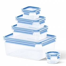 Tefal Master Seal Fresh Food Storage, 3.7 Litre, 5-Piece Set