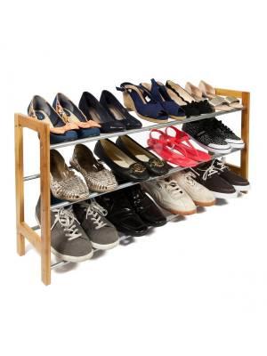 3 Tier Hallway & Enterance Shoe Storage Rack- Fully Extendable
