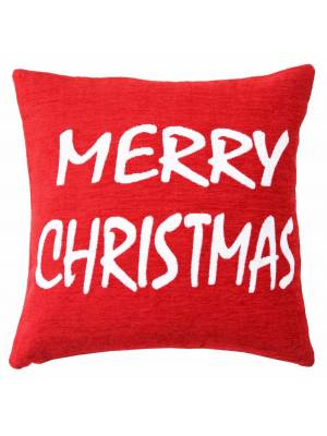 Decorative Merry Christmas Cushion Covers ( Cushion Included )