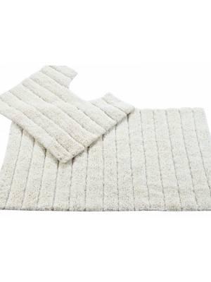 Luxurious Cotton Soft Absorbent 2 Piece Bathmat Set in Cream