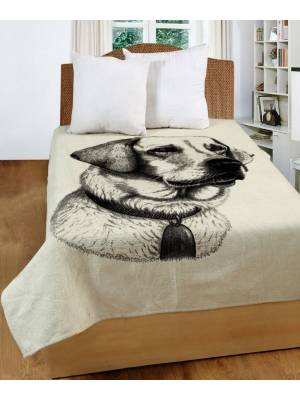 Chenille Tapestry Dog Throws for Sofa ,Bedspread and Arm Chair