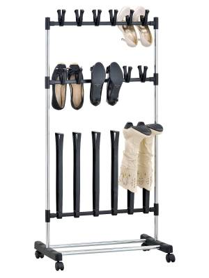 EHC Shoe and Wellington Boot Shoe Stand On Wheels