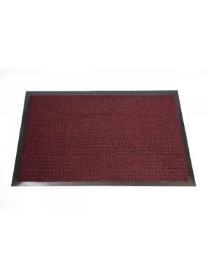 Heavy Duty Non-Slip Entrance Dirt Barrier Door Mat,60 x 180cm -Red/Black