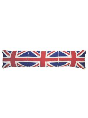 Jacquard Union Jack Cushioned Home Door Draft Draught Excluder, 90cm