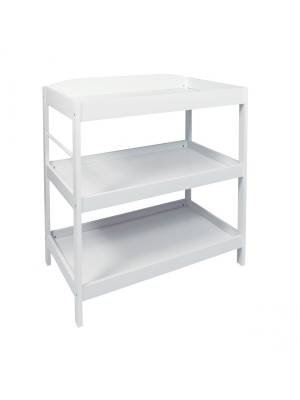 MDF Baby Changing  Dresser Station With Towel Rail -White