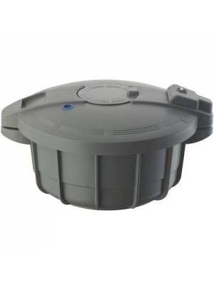 Prestige 2.2 Litre Microwave Pressure Cooker (Grey)