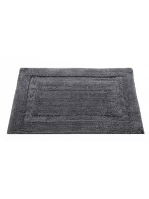 Super Absorbent Heavy Pile Oxford Non-Slip Bathmat- Smoke