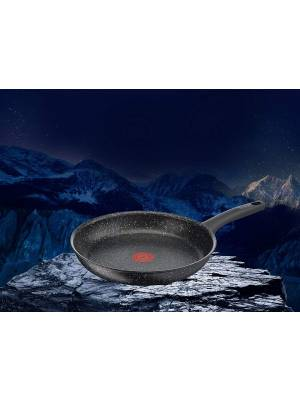 Tefal Everest Stone Frying Pan with Thermospot, Aluminium Effect-32 cm