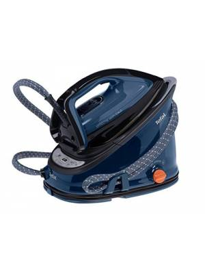 Tefal GV6840 Anti-Scale High Pressure Steam Generator - Black/Blue