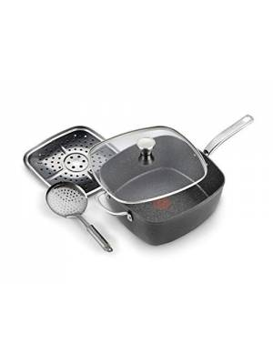 Tefal Titanium Excel Non-Stick All-in-One Frying Pan - Black