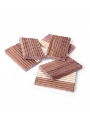 Woodluv Eco-Friendly 4 Natural Aromatic Cedar Wood Moth Repellent Balls