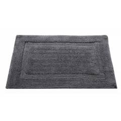 Super Absorbent Heavy Pile Oxford Non-Slip Bathmat- Smoke