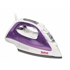 Tefal FV2661 Ultraglide Anti-Scale Steam Iron, 2400 Watt, Purple/White