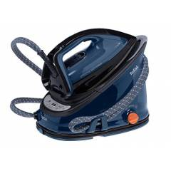 Tefal GV6840 Anti-Scale High Pressure Steam Generator - Black/Blue
