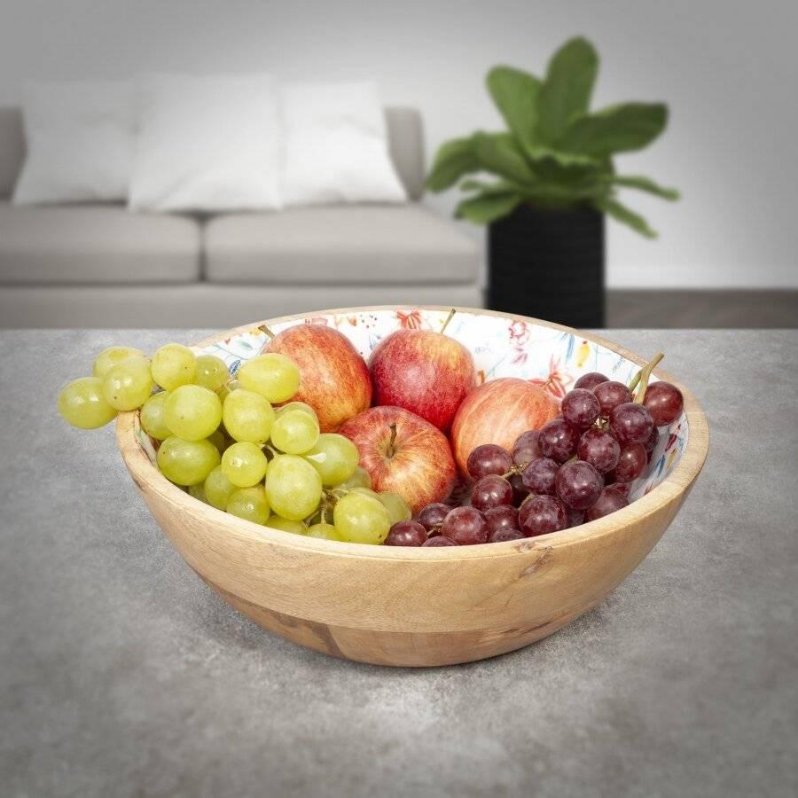 25 cm Wooden Salad Bowl or Fruit bowl, Serve salads, Sides & More