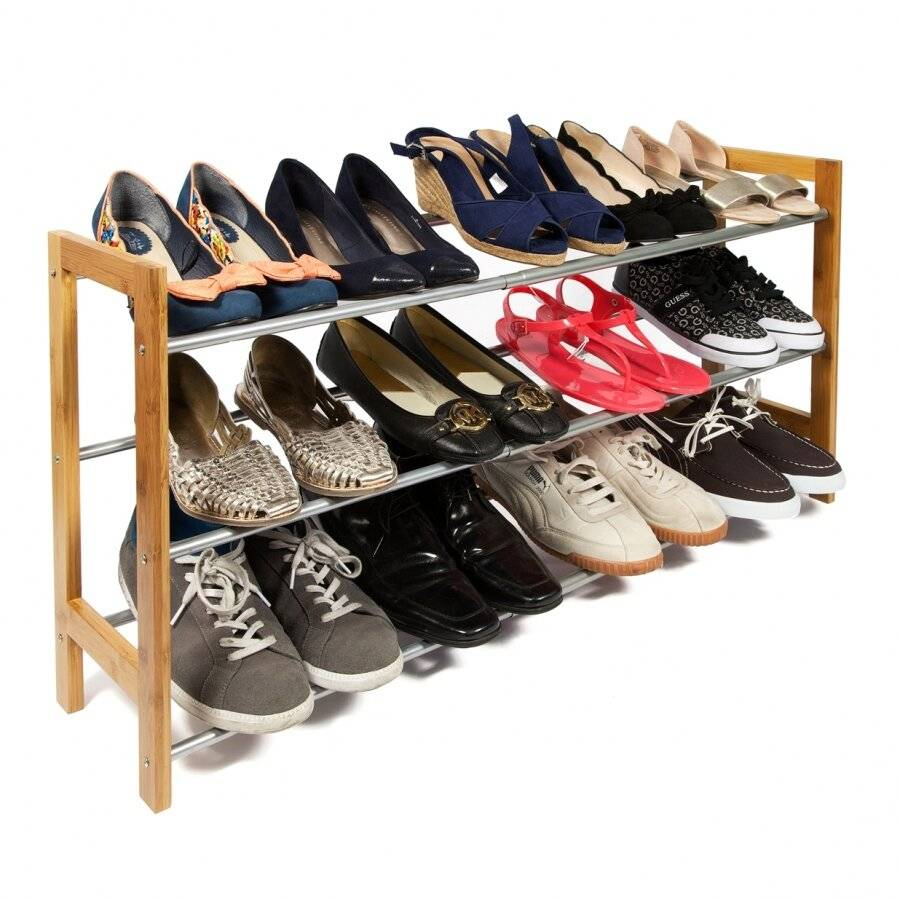 3 Tier Hallway & Enterance Shoe Storage Rack- Fully Extendable
