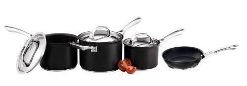 Circulon Infinite Hard Anodized 4 pcs Cookware Saucepan Set