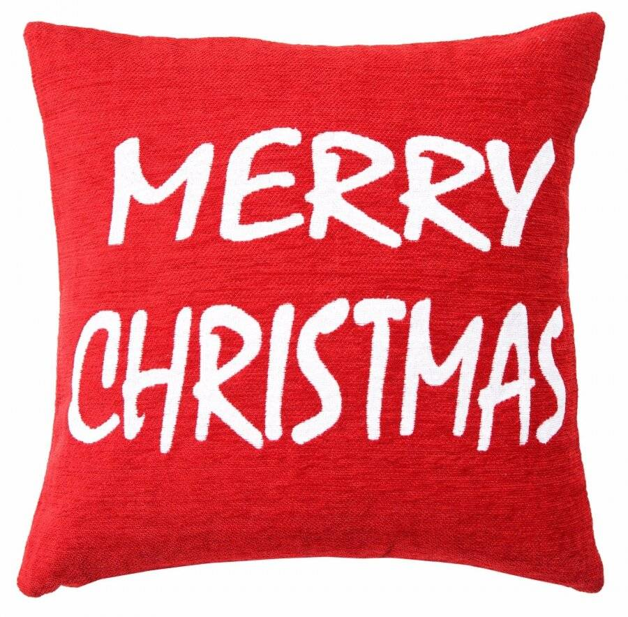 Decorative Merry Christmas Cushion Covers (Cushion Included)