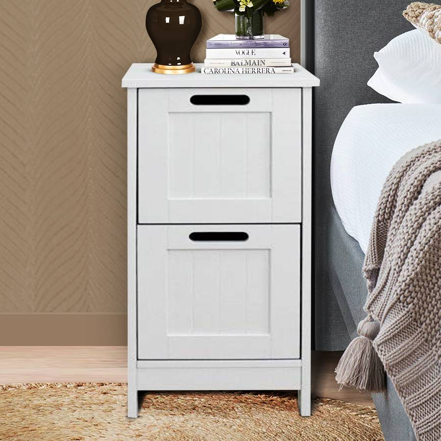 Woodluv MDF Bathroom, Bedroom Hallway Freestanding Storage Unit