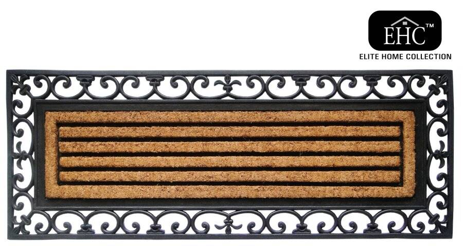 Extra Large Non Slip Rubber Coir Outdoor & Indoor Door Mat
