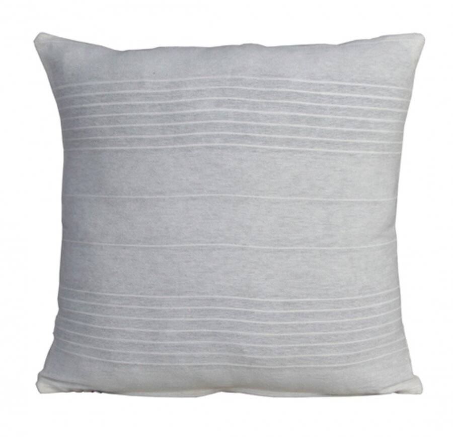 """Indian Classic Rib Cotton Cushion cover 16"""" x 16"""" Inches Ivory"""