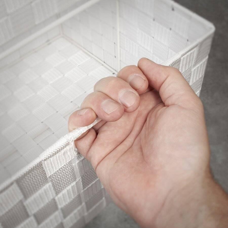 EHC Large 4 Drawer Storage Cabinet For Bedroom, Bathroom - White