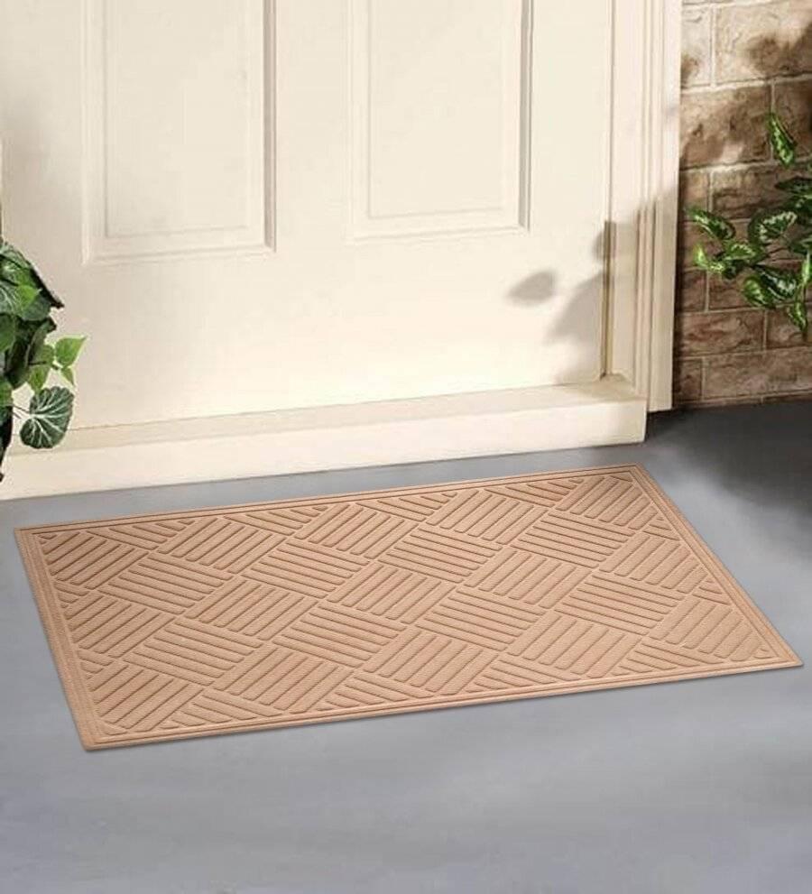 Polypropylene Indoor/Outdoor Dust & Water Retaining Doormat - Grey