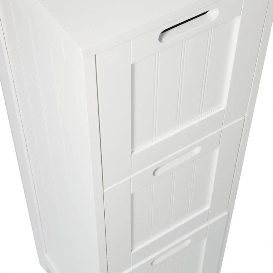 MDF 3 Drawer Storage Cabinet For Bathroom and Bedroom