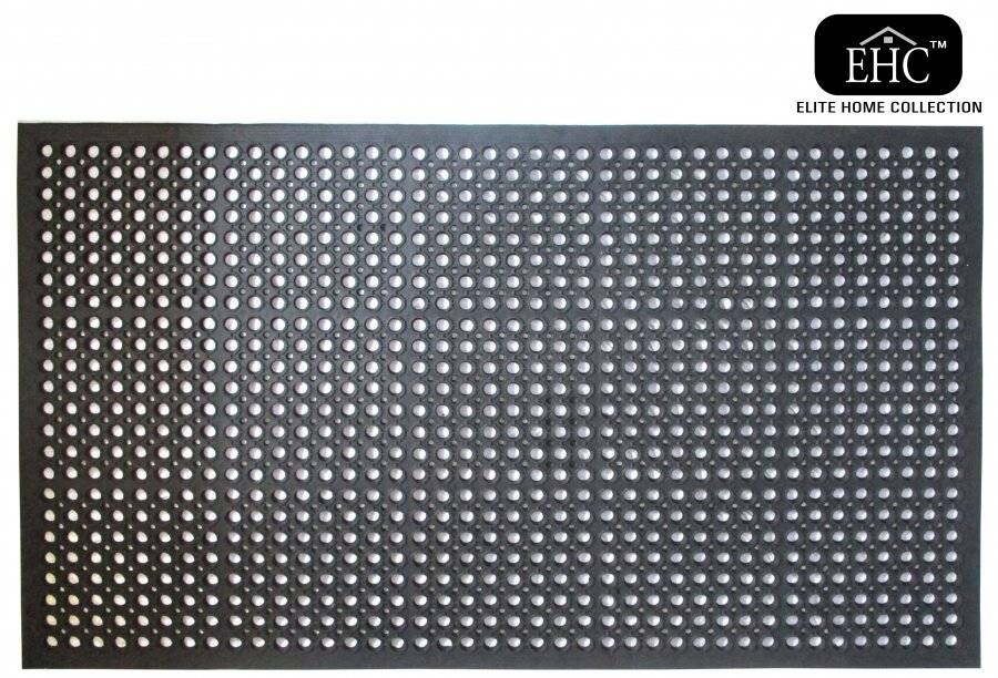 Non Slip Anti-Fatigue Industrial Indoor & Outdoor Rubber Door Mat