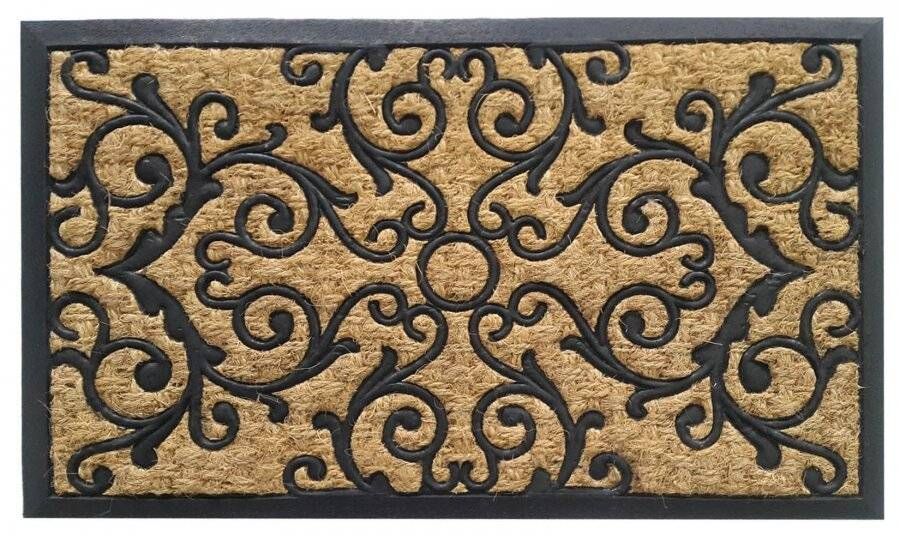 Panama Natural Coir & Rubber Indoor &Outdoor Non-Slip Door Mat