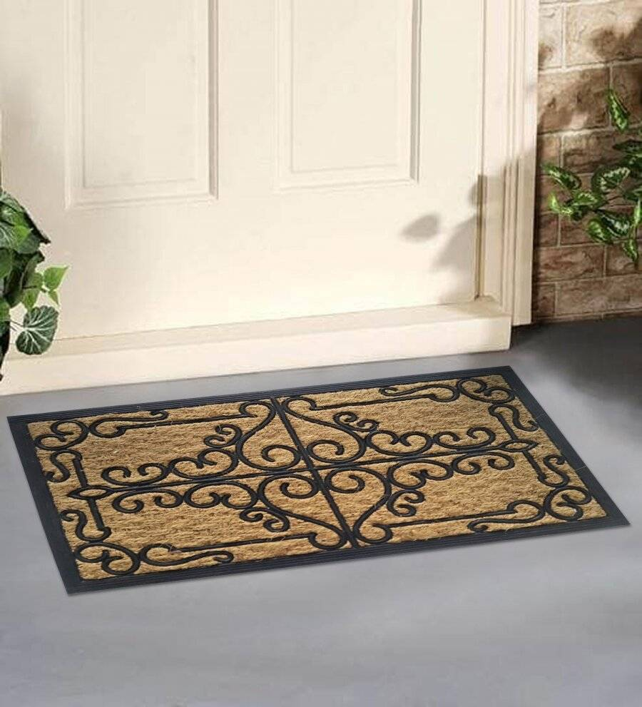 Panama Robust Natural Coir & Rubber Indoor &Outdoor Non-Slip Door Mat