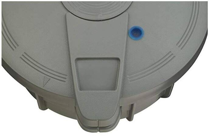 Prestige 2.2 L Microwave Pressure Cooker (Grey)