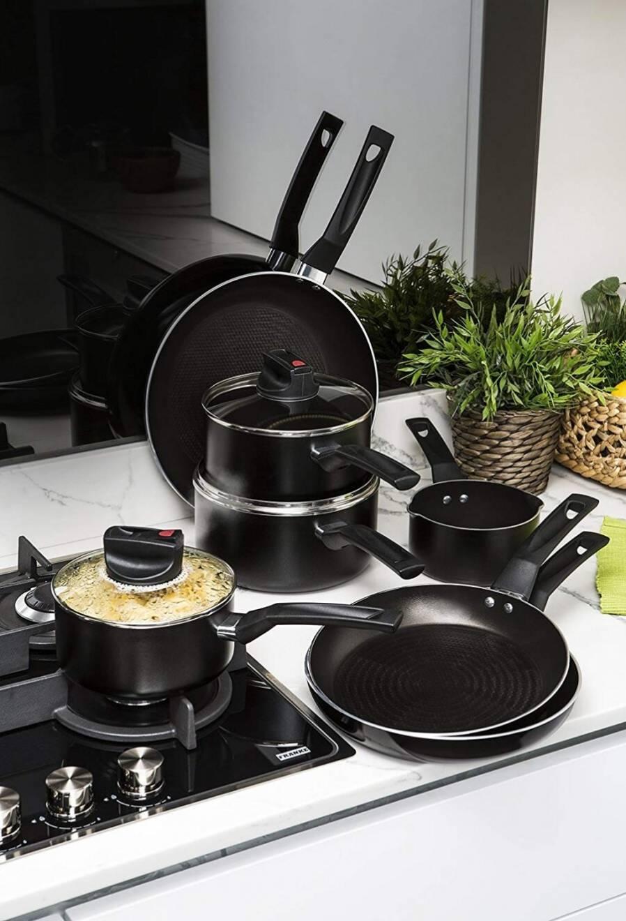 Prestige Safe Cook Aluminium 3 PCs Saucepan Set With Lid - 16/18/20 cm