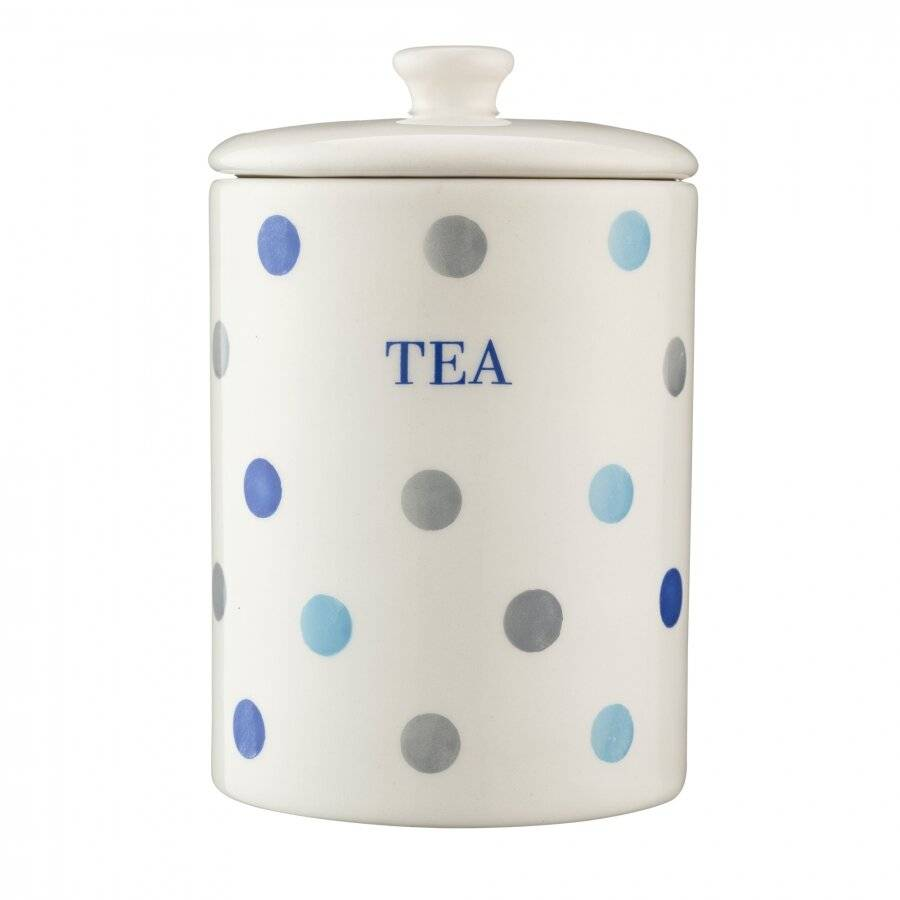 Price and Kensington Padstow Blue Tea Storage Jar
