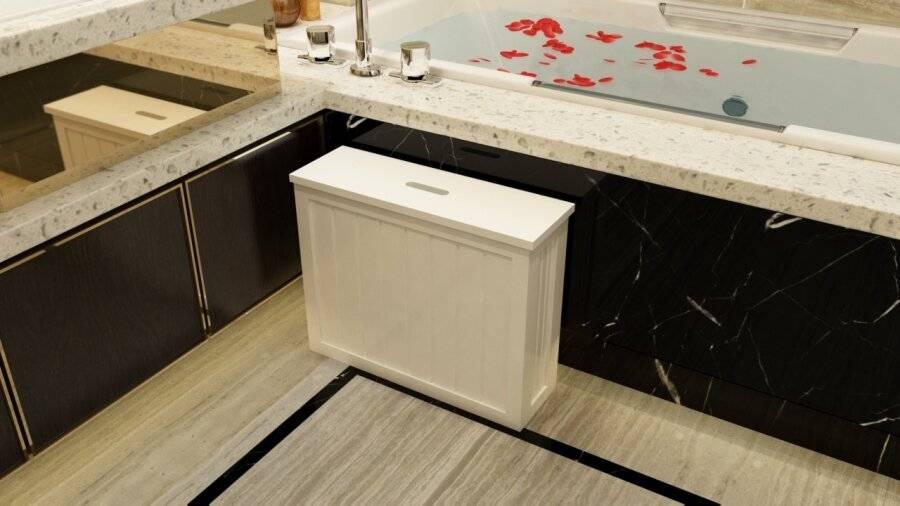 SlimLine Range MDF Multi Purpose Bathroom Storage Unit