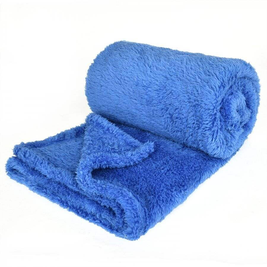 Super Soft Polar Thermal Throw - Blue (130 cm x 210 cm)