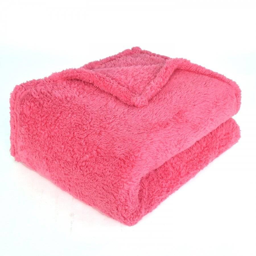 Super Soft Polar Thermal Throw - Pink (130 cm x 210 cm)