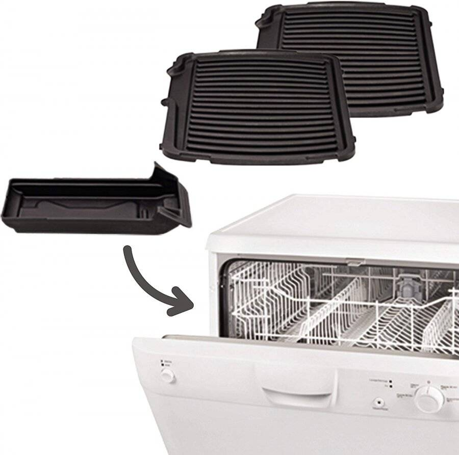 TEFAL 2 in 1 Super Grill - 6 Portions / Settings Including Searing