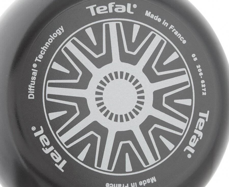 Tefal 20 cm Hard Titanium Non-Stick Thermo-Spot Frying Pan - Black