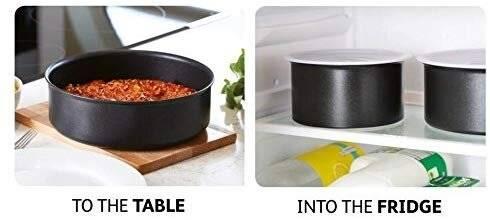 Tefal 3 Piece Ingenio Essential Nonstick Saucepan Cookware Set
