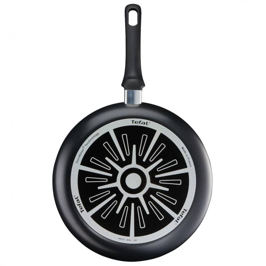 Tefal Cook Right Non-Stick Frying Pan, 28 cm - Black