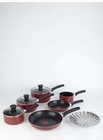 Tefal Delight 7 Piece Nonstick Cookware Saucepan Frying Pan Set